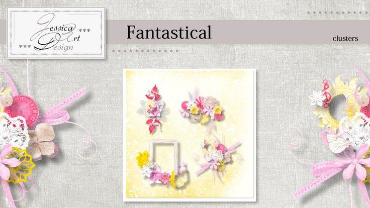 Fantastical clusters by Jessica art-design