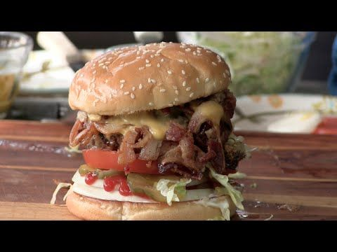 My version of the Hodad's Bacon Cheeseburger. One of the best burgers out there!