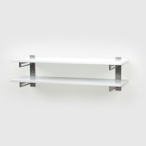 SKOHYLLA 7  W 120 x H 32 D 30 cm  Aluminium, Oak / Black Oak / White