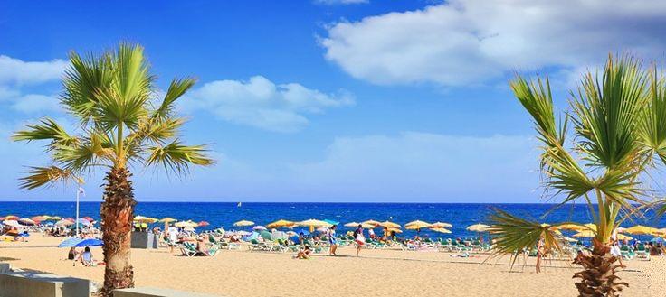 Barcelona Beaches in Spain