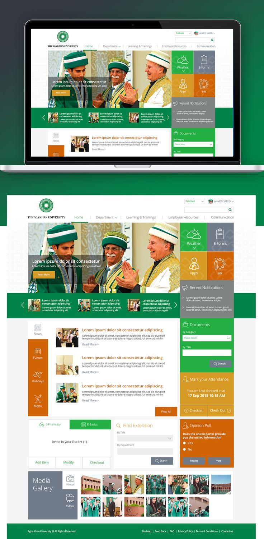 25 best ideas about portal website on pinterest orange for Portale design