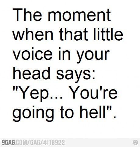I heard this, uhm, a couple times, hehe.