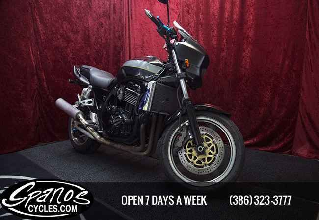 Used 2000 Kawasaki ZRX1100 Motorcycles For Sale in Florida,FL. 2000 KAWASAKI ZRX1100 SPORT The Kawasaki ZRX1100 was a standard or sport motorcycle made by Kawasaki from 1997 to 2001. It replaced the Zephyr 1100. Since the Zephyr 1100 sold poorly in the US, the ZRX1100 was not initially sold in that market until 1999. In 2001, the ZRX1100 was replaced by the larger engine ZRX1200. The 1100 and 1200 were also sold in the US until 2005. They are still sold in Japan as the ZRX1200 DAEG model…