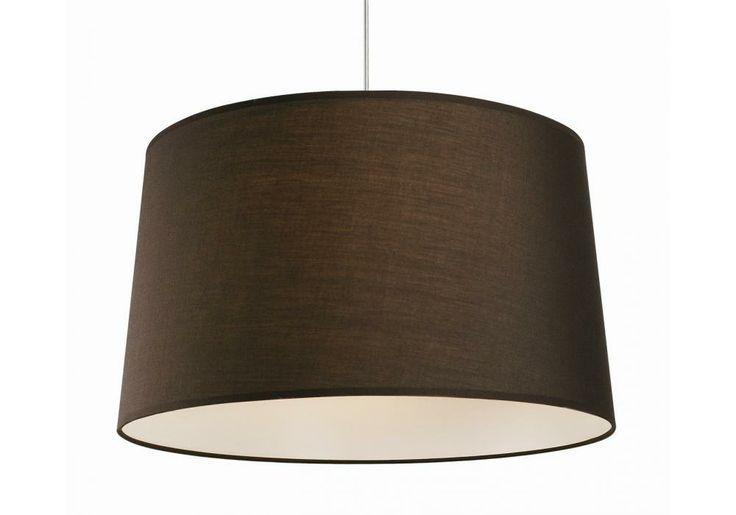 Besselink licht Hanglamp lampenkap Trend rond (40 cm) seal brown bestel je online bij Formido, de voordelige bouwmarkt