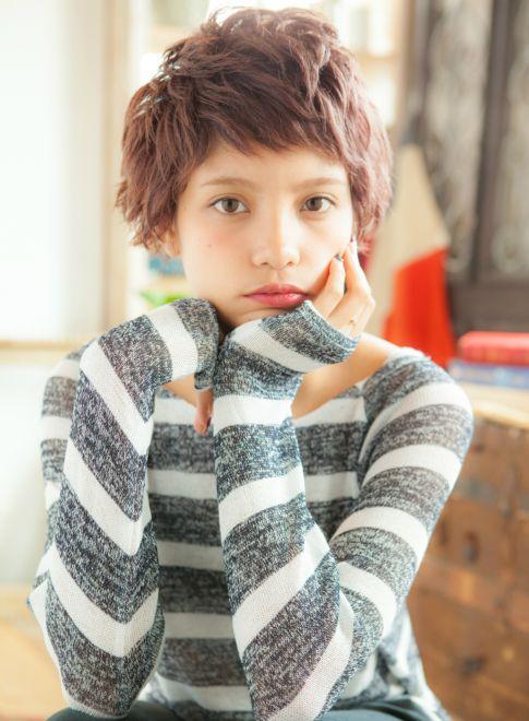 オータムショコラショート 【little galleria】 http://beautynavi.woman.excite.co.jp/salon/26973?pint ≪ #shorthair #shortstyle #shorthairstyle #hairstyle・ショート・ヘアスタイル・髪形・髪型≫
