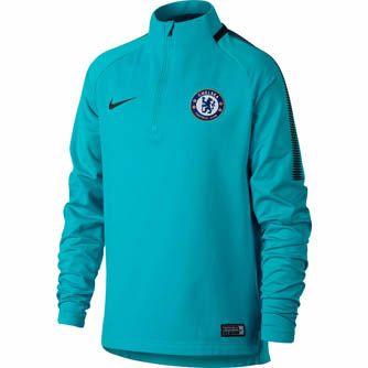 Nike Kids Chelsea Drill Top - Omega Blue & Anthracite | SoccerMaster.com