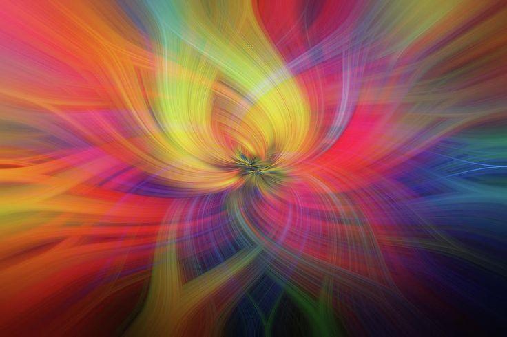 Rainbow Flower Of Passion by Jenny Rainbow