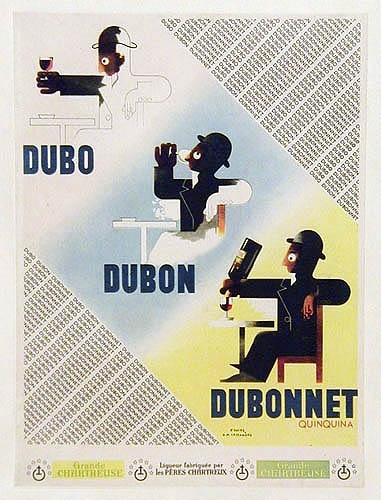 An analysis of the cassandres poster design dubonnet