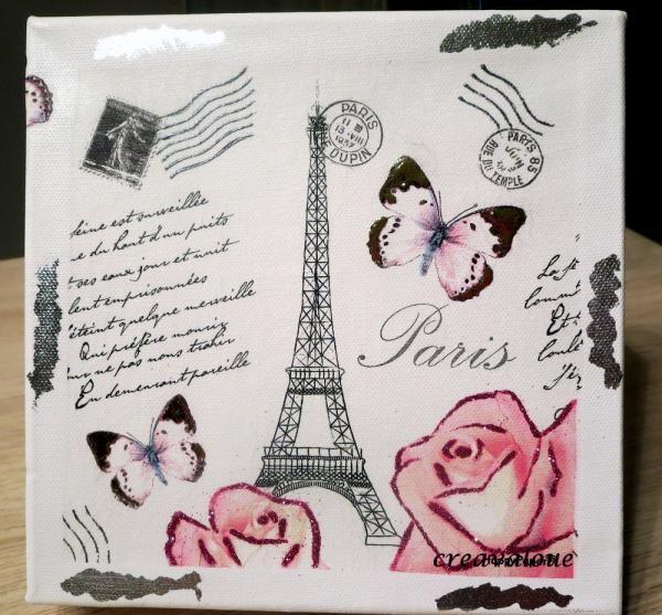 photo Paris (Tableaux home déco) - Femme2decoTV