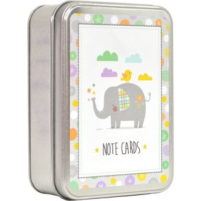 TIN NOTECARDS - ELEPHANT GENERAL