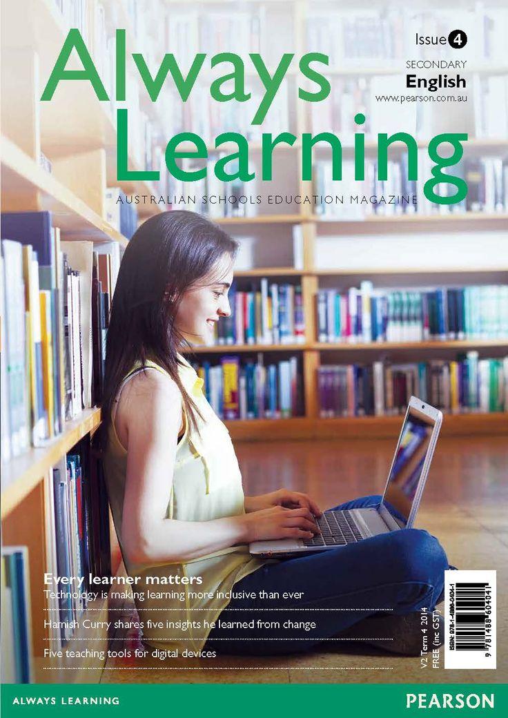 67 best secondary english images on pinterest languages english always learning english magazine issue 4 term 4 2014 fandeluxe Choice Image
