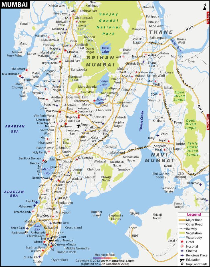 mumbai street map - Google Search