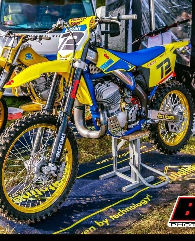 Vintagebikerestoration Motorcross Bike Yamaha Dirt Bikes Dirt Bike Shop