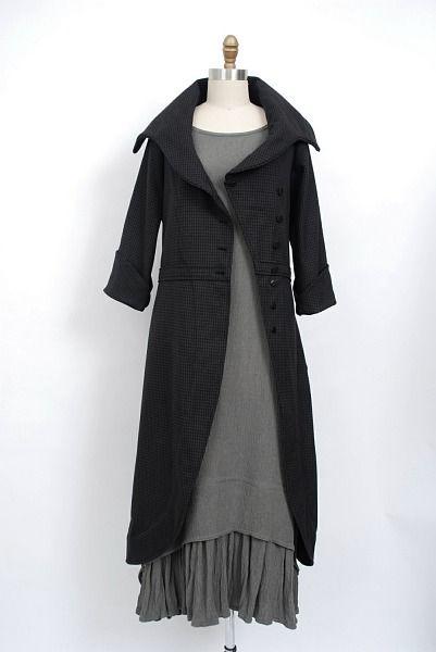 Fitzgerald Coat Dress dr-fitzgerald-cd - Ivey Abitz Bespoke