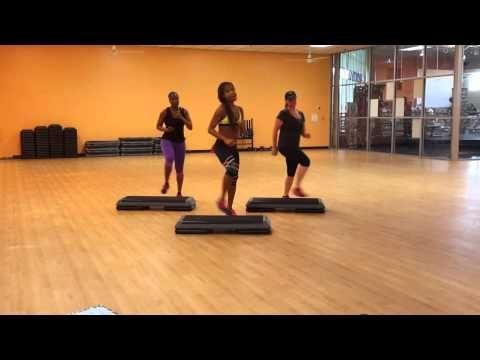 Cardio Step: 30 Minute Basic/Intermediate Step with Karla Luster - YouTube