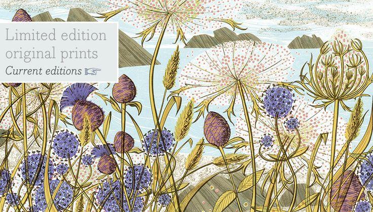 Angie Lewin - printmaker, painter and designer