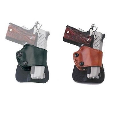Galco Gunleather Open Muzzle Concealment Neutral Cant Yaqui Slide Paddle Holster