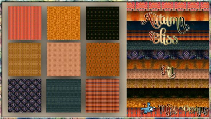 Autumn Bliss - Patterned Papers