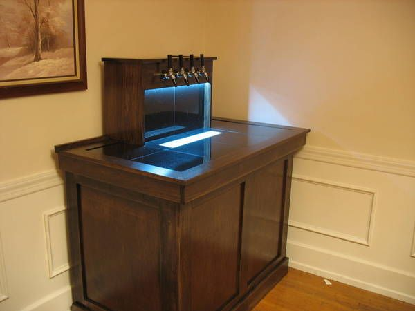 Home Bar Plans With Kegerator Woodworking Projects Plans