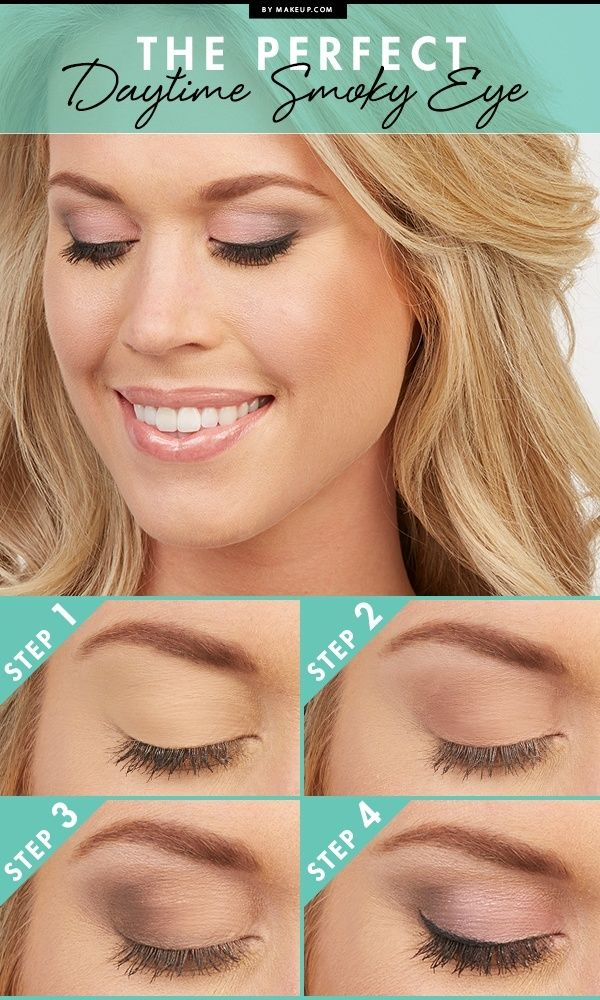 Gorgeous daytime smoky eye. Will definitely try this one!