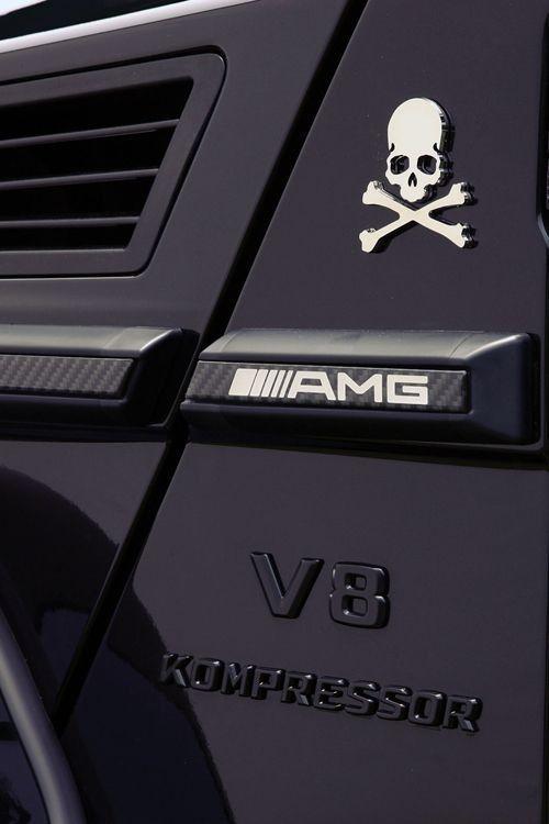 Mercedes G Wagon AMG...instead of skulls/bones I'd rock a Direwolf sigil