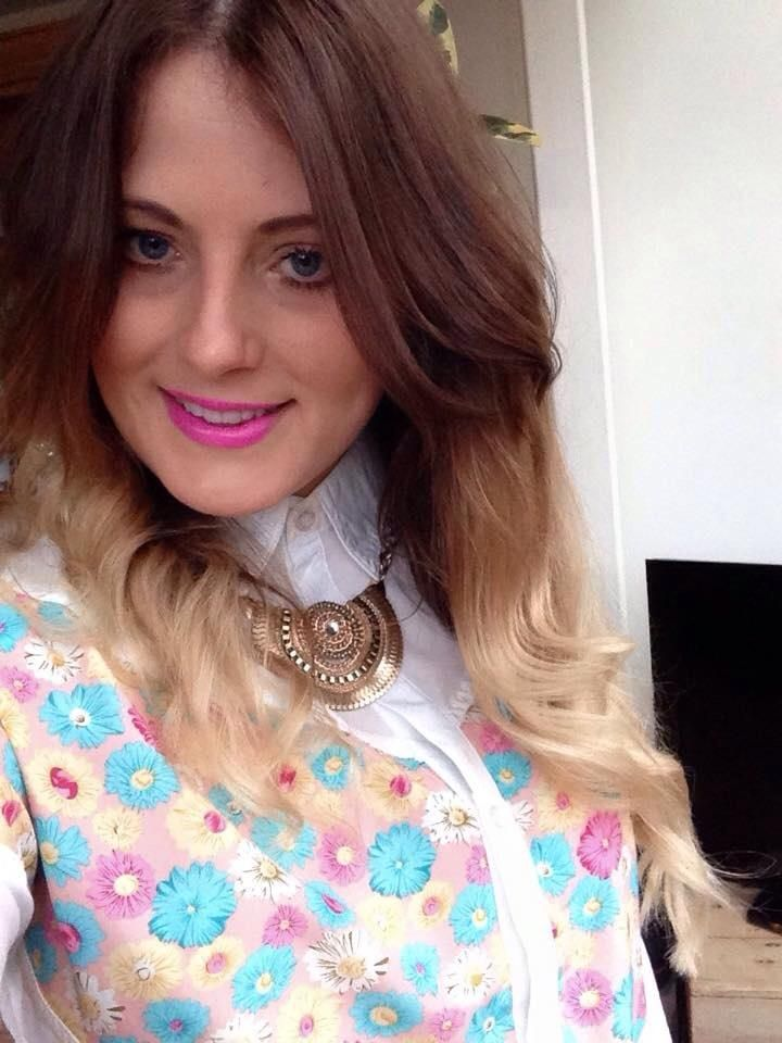 Our gorgeous customer Harriet wearing her @MaryandMilly floral shirt! Get the look http://www.maryandmilly.co.uk