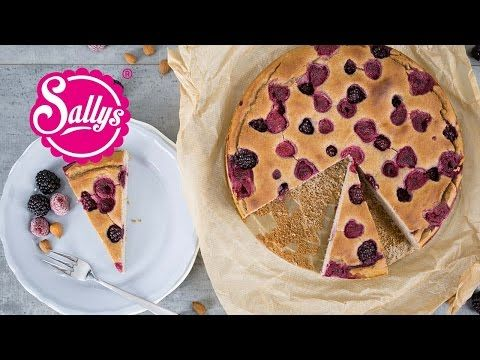 Schneller Eiweißkuchen ohne Mehl und ohne Zucker. Ein gesunder Kuchen.