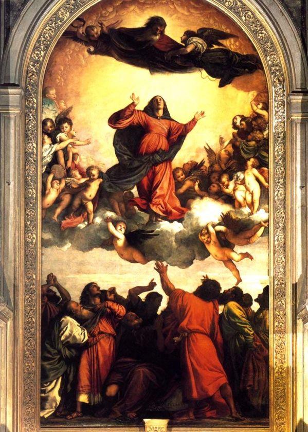 TITEN - L'Assomption - Eglise des Frari, Venise