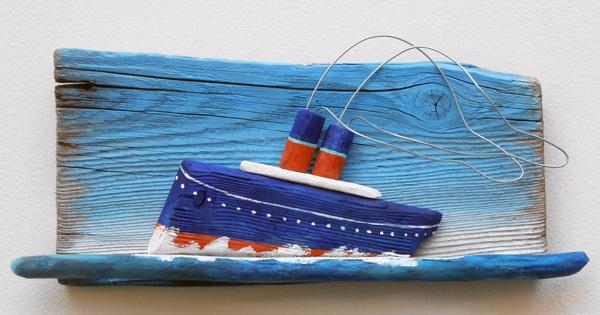 steamboat,driftwood  www.ultramarin-art.hr