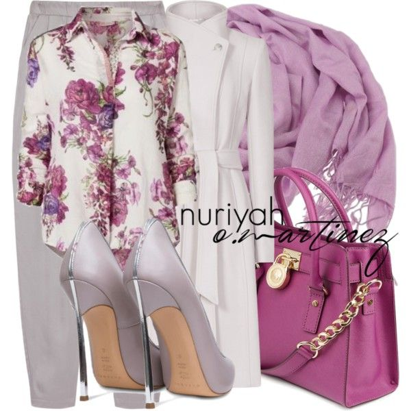 Hijab Outfit #658 by hashtaghijab on Polyvore featuring James Perse, Casadei, CO and hijab