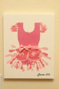 Ballet craft idea