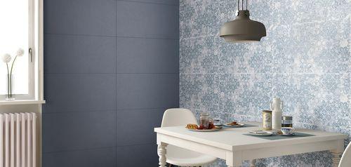 Piastrella da cucina / murale / in ceramica / lucidata VISUAL DESIGN CERAMICHE SUPERGRES
