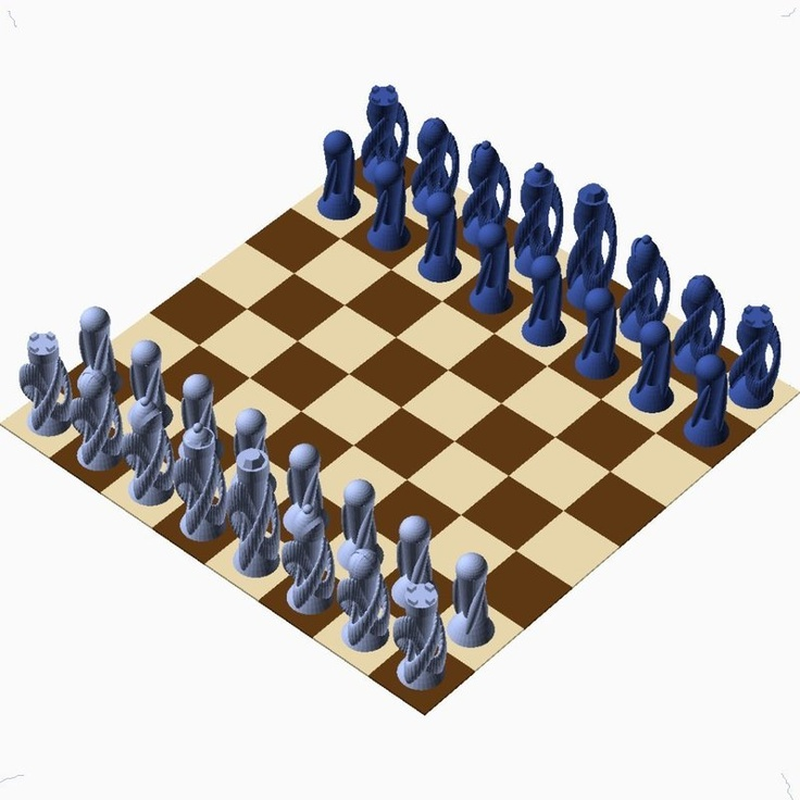 1000 Images About Tinkercad Chess Set Contest On Pinterest