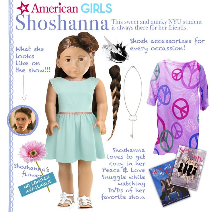 """lol @Carly Cisneros check these out! :The Cast Of HBO's """"Girls"""" As American Girl Dolls"""