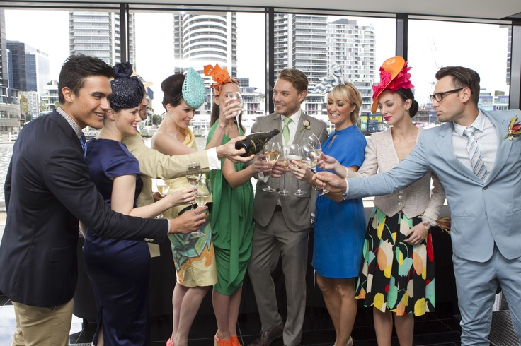 Celebrations after the 2012 Spring Launch