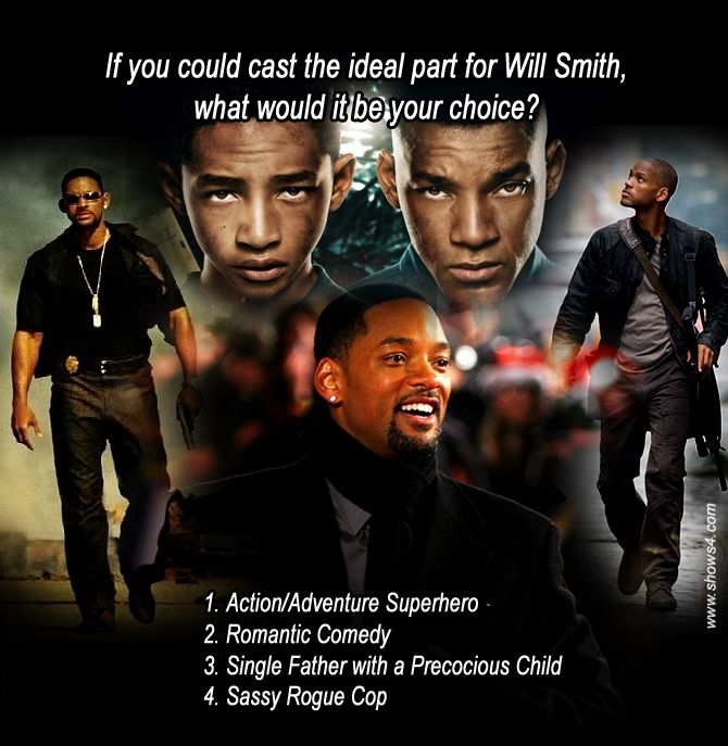 If you could cast the ideal part for Will Smith, what would it be your choice?