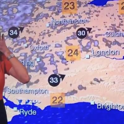 Watch This BBC Presenter Laugh Uncontrollably During Live Weather Forecast #lol #funny #rofl #memes #lmao #hilarious #cute