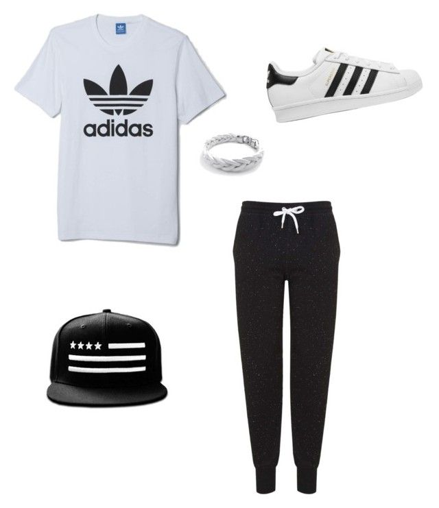 """""""adidas"""" by anissa-c on Polyvore featuring adidas, Topshop and adidas Originals"""