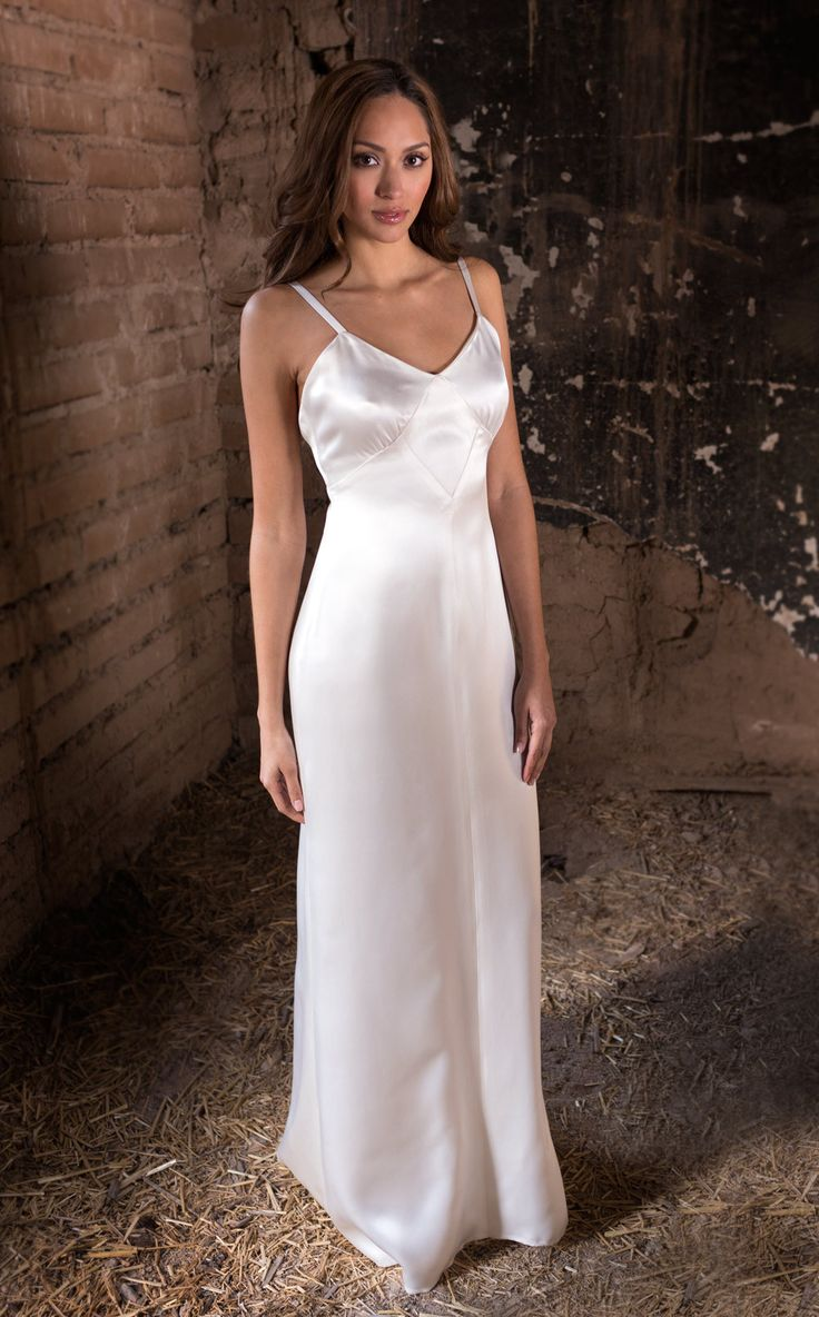 Hair and Makeup Magarita GoDiva and IDo Hair and Makeup Artistry Slip dress by Martin McCrea   Double silk charmeuse slip dress in 1930's design. Comes included with Vivian and Caroline gowns, but can be ordered separately to be worn as an evening gown or wedding dress.