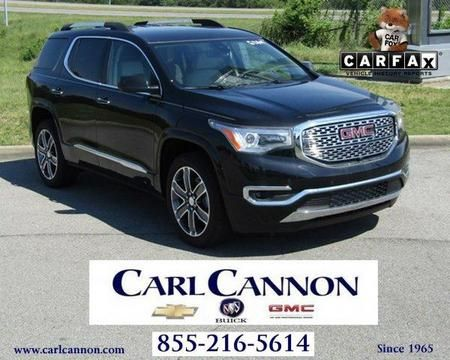 For Sale 2017 GMC Acadia Denali - $45,147