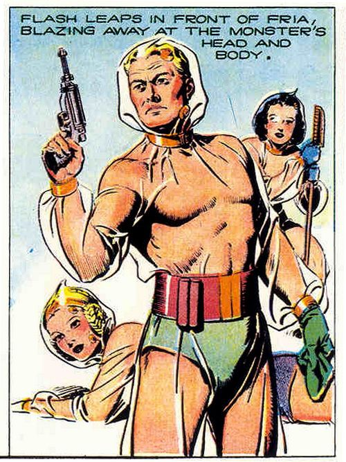Monsters Forever • Flash Gordon (Comic Strip, 1939) By Alex Raymond