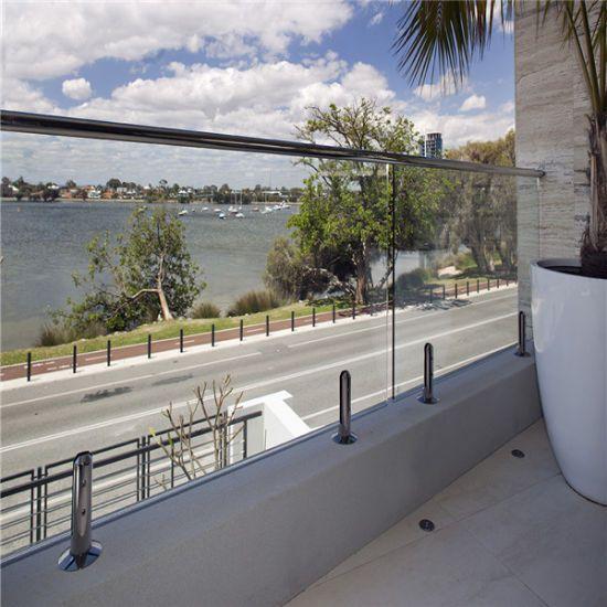 Best Outdoor Frameless Tempered Glass Railing In 2020 Glass 400 x 300