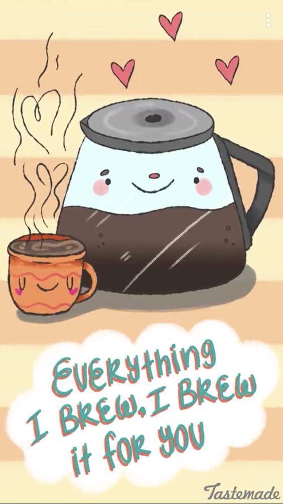 Caffeine Is My Boyfriend | Coffee | Coffee quotes, Coffee puns ... #iLoveCoffee