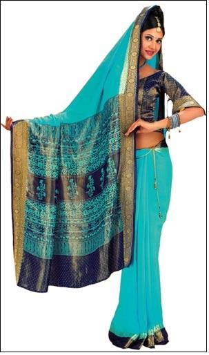 Hanveev aims to make pure silk sari affordable http://goo.gl/eyj65