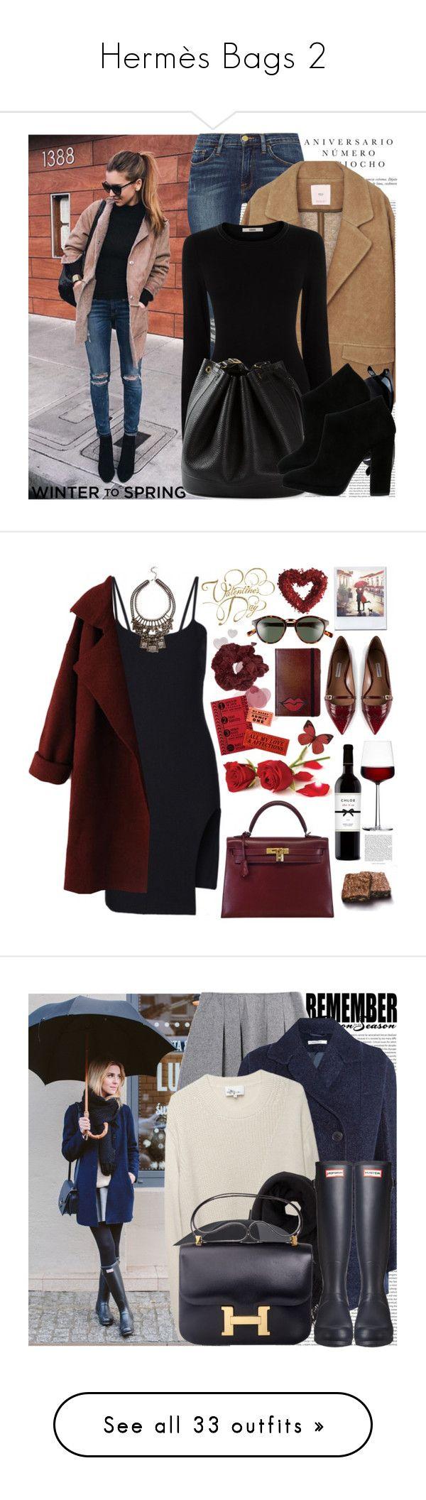"""Hermès Bags 2"" by chocolatepumma ❤ liked on Polyvore featuring Oris, Sinclair, Frame Denim, MANGO, Oasis, Hermès, Giuseppe Zanotti, Tabitha Simmons, iittala and Polaroid Eyewear"