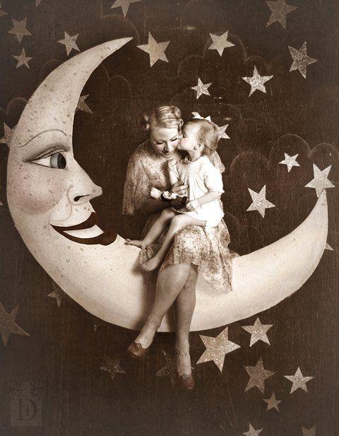 Sweet paper moon image.