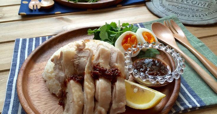 炊飯器にポンで簡単!美味しいカオマンガイ by ちはる姉さん [クックパッド] 簡単おいしいみんなのレシピが272万品
