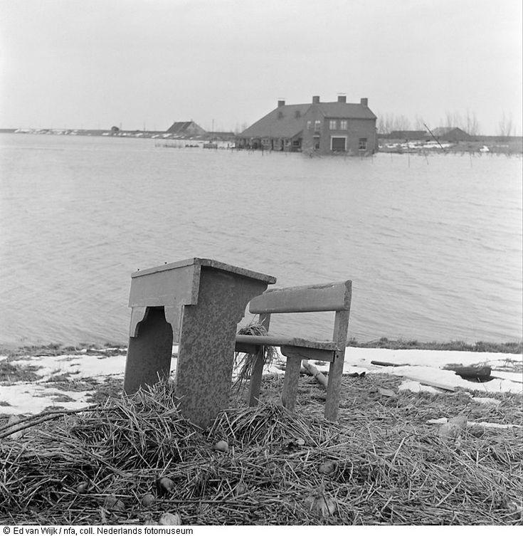 zeeland 1953 | foto: ed van wijk