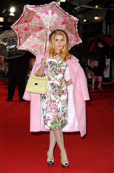 Paloma Faith in the ASOS Vintage Cocoon Coat http://asos.to/1bDgZyL