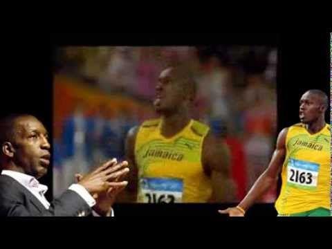 Michael Johnson analyzes Usain Bolt's sprinting
